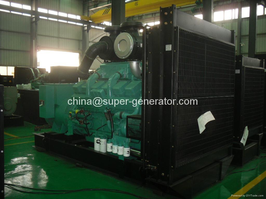 Cummins diesel generator 1500kva QSK60-G4 engine with stamford Marathon ...