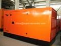 Perkins diesel generator silent type 10kw 13kva 403D-15G 50HZ