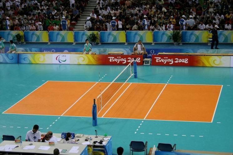 Indoor  volleyball floor mat 2