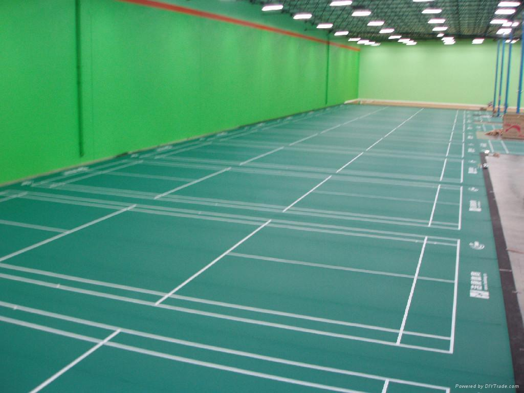 how to make a badminton court at home