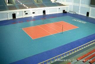 Indoor  volleyball floor mat 3