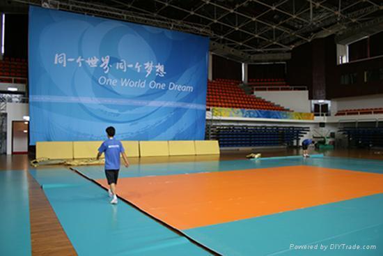 Indoor  volleyball floor mat 4