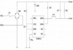 LED日光灯低成本驱动IC TC5225
