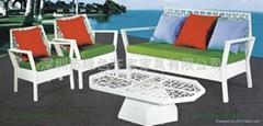 戶外傢具藤椅暢銷款M1198藤藝沙發