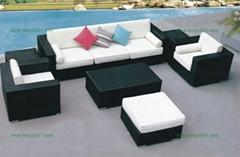 戶外傢具藤椅暢銷款M1031藤藝沙發