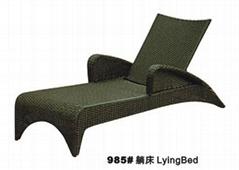 户外家具藤椅M985沙滩椅