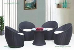 深圳藤椅品牌户外家具M632藤椅