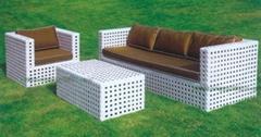戶外傢具藤椅M0605藤沙發