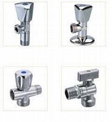 Brass angle valves