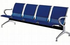 4 seat beam hospital waiting chair
