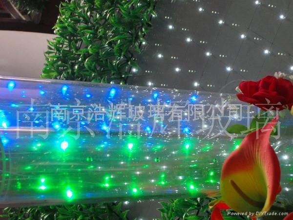 LED发光玻璃柱  LED发光柱 1