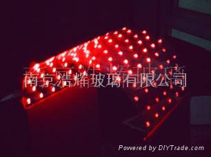 LED发光玻璃柱  LED发光柱 2