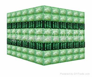 LED发光玻璃柱  LED发光柱 3