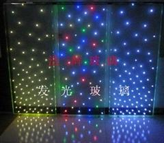 LED發光玻璃  LED發光LOGO