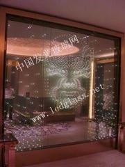 LED智能玻璃屏