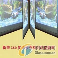 高透明投影屏