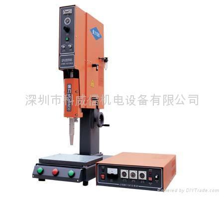 深圳科威信強力超聲波塑膠焊接機 1