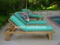 實木沙灘椅  2