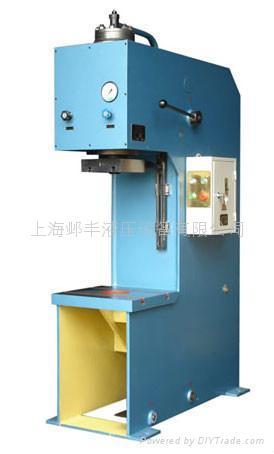 上海Y41单柱液压机 3