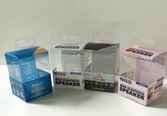 厂家订制印刷透明PVC彩卡  PVC折盒 PP灯罩 PP塑料盒