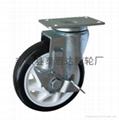 5寸聚氨酯PU腳輪