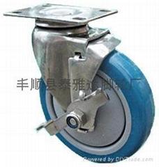 4寸中型不鏽鋼腳輪