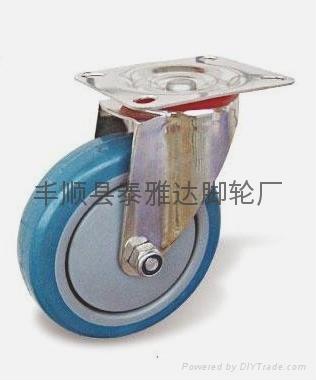 4寸中型不鏽鋼腳輪 2