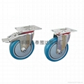 4寸中型不锈钢脚轮