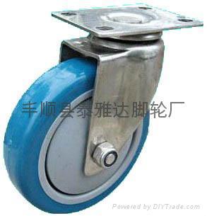 4寸中型不鏽鋼腳輪 5