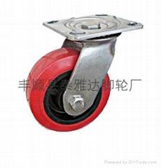 6*2寸重型PU腳輪