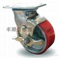 6*2寸重型PU脚轮
