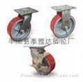 6寸聚氨酯工业脚轮