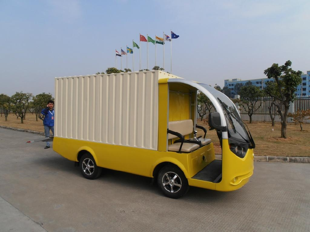 电动厢式货车 3