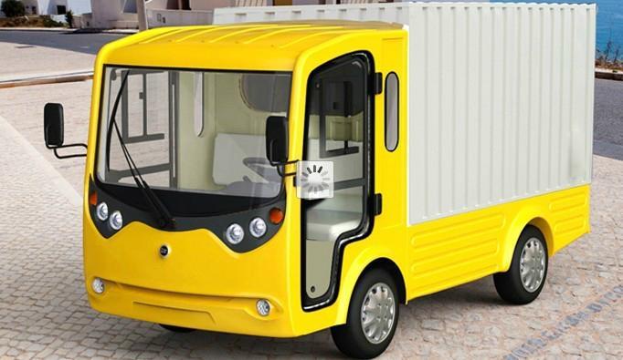 电动厢式货车 1