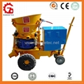 GZ-5 output 5m3/h with electric motor shotcrete machine