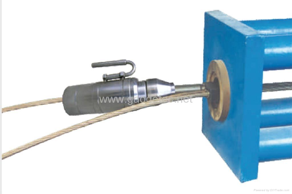 single hole tension hydraulic jack