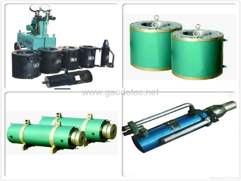 stressing hydraulic cylinder