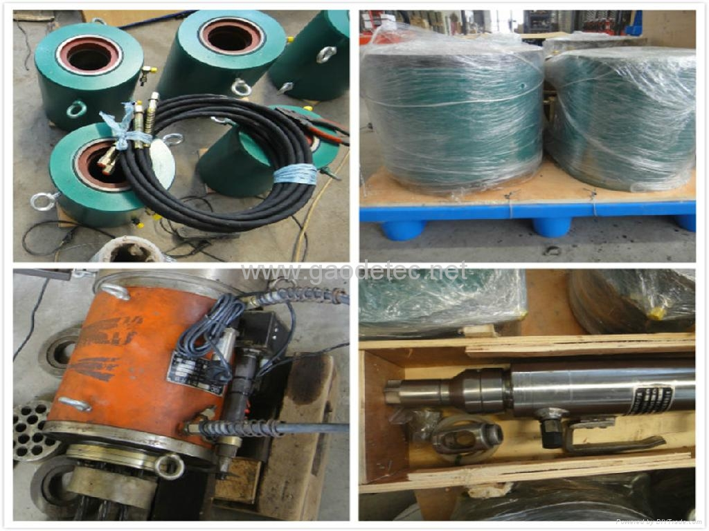 YDC Series Prestressed Concrete Stressing Hydraulic Jack 8