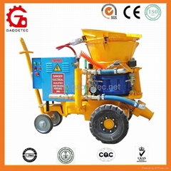 GZ-5 use for hydropower projects with electric motor dry shotcrete machine