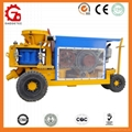 fast delivered GZ-9 spraying concrete machine