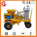 Pneumatic wet-mix and dry-mix shotcrete machine
