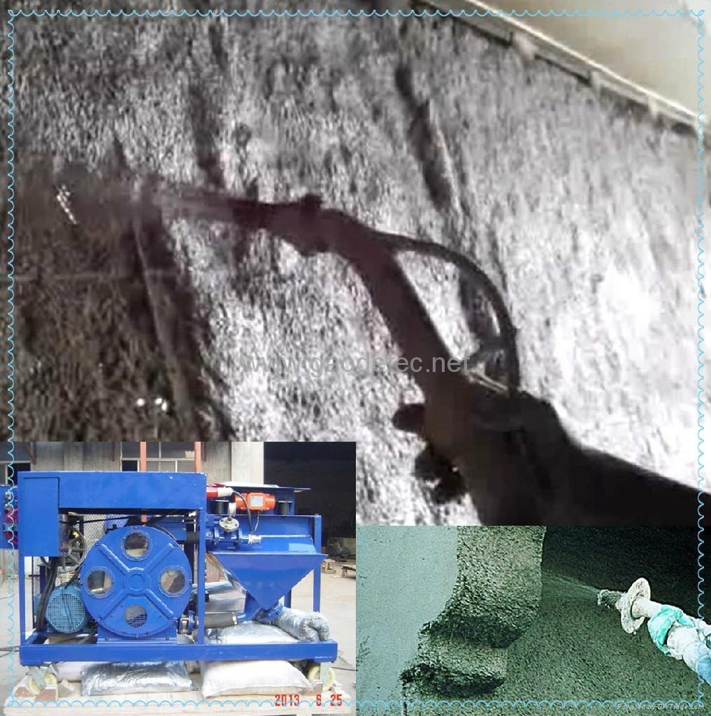 Application of GMP40/10-H Hose type Mortar Pump Spraying Machine