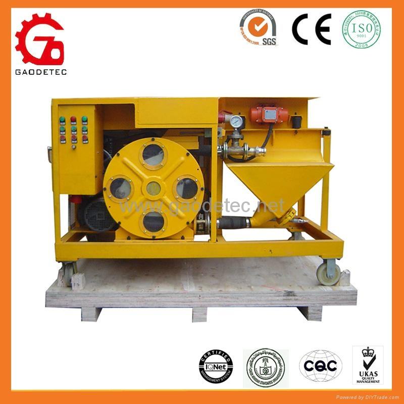 GMP40/10-H with Continuous Spraying Flow Mortar Plastering Pump