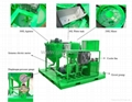 Main spare parts of grout mixer pump