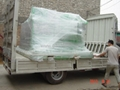 Deliver grout mixer pump to Sweden