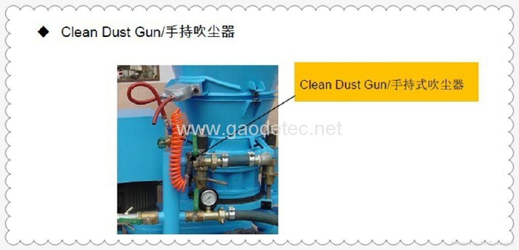 耐火材料干噴機 4
