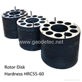 Rubber pad Steel rotor plate metal plates
