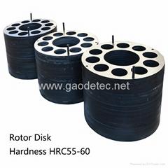 Rubber pad Steel rotor plate metal plates