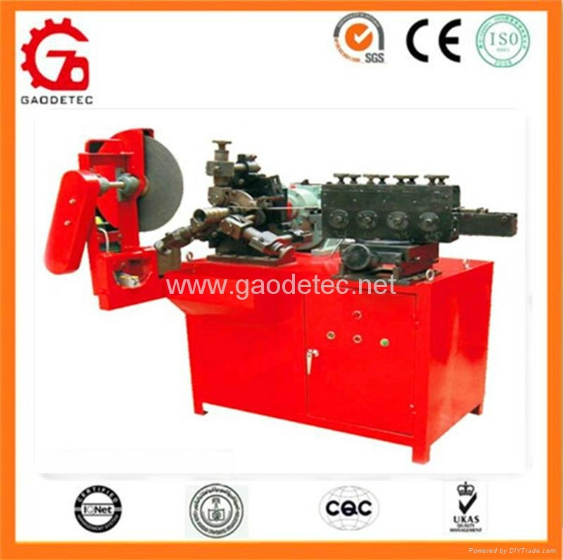 metal duct pipe making machine