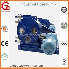 大型软管挤压泵 输送量大 距离远 无阀不堵塞